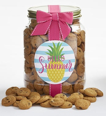 Hello Summer Chocolate Chip Cookie Jar
