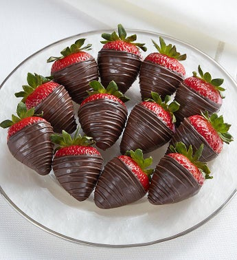 Decadent Dark Chocolate Strawberries