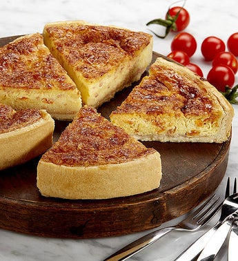 Bacon Flavored Tomato Quiche