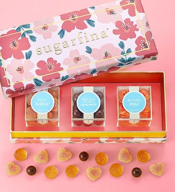 Sugarfina Fabulous Flowers Candy Bento Box