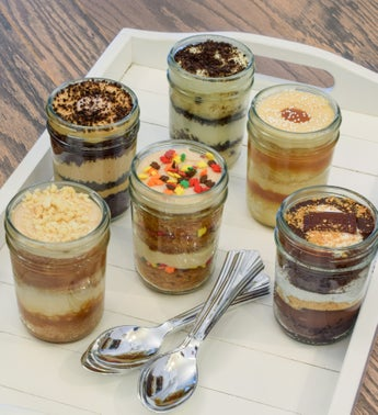 Wicked Good Favorite Fall Cupcakes in a Jar