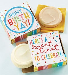 Gluten Free Happy Birth-Yay Cookie Card