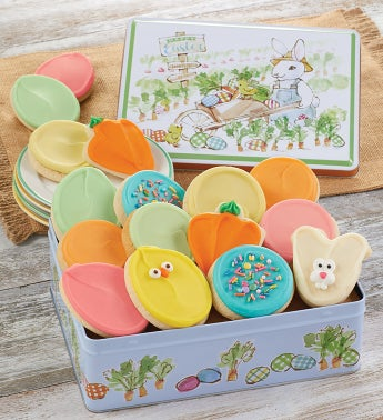 Easter Gift Tin Buttercream Frosted Assortment