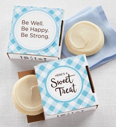 Be Well Be Happy Be Strong Cookie Card