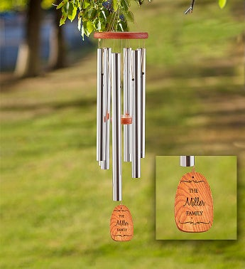 Personalized Amazing Grace Wind Chime