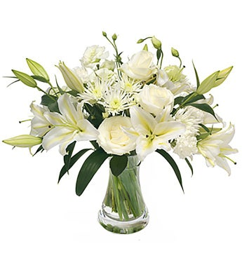 Perfect in White - Florists Choice