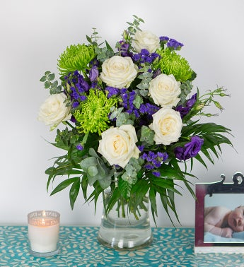 Lilac and Limes Bouquet