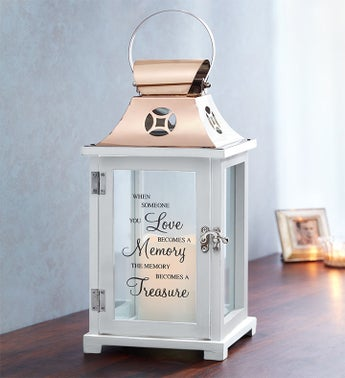 Treasured Memories LED Lantern