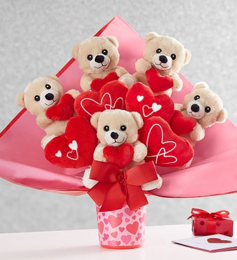 Lotsa Love Romance Plush Bouquet