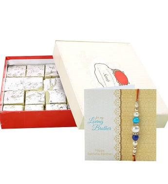 Kaju Burfi and Rakhi Hamper