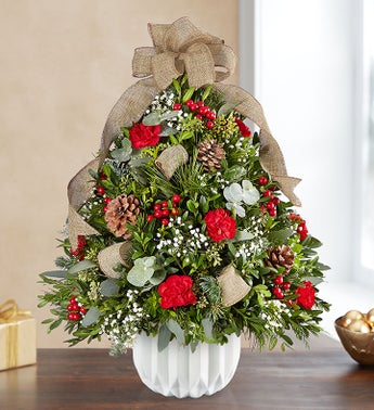 Christmas Enchantment Holiday Flower Tree