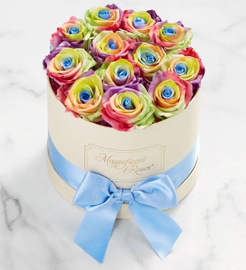 Magnificent Roses Preserved Kaleidoscope Roses