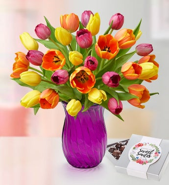 Mothers Day Radiant Tulips 15-30 Stems