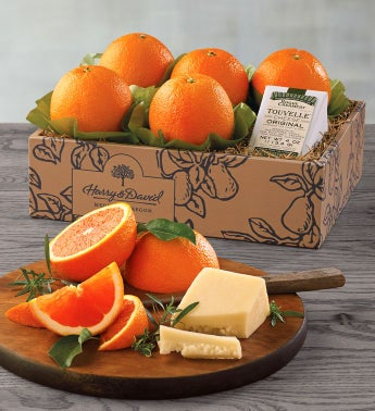 Cara Cara Oranges and TouVelle174 Cheese