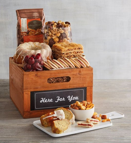 """""""Here for You"""" Gift Basket"""