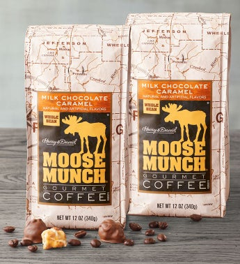 Milk Chocolate Caramel Moose Munch174 Coffee - 2 Pack