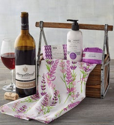 Summer Spa Gift with Wine