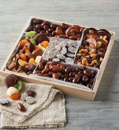 Belgian Chocolate-Dipped Dried Fruit and Nuts