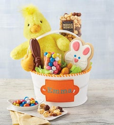 Personalized Easter Chick Gift Basket