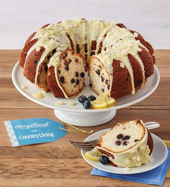 Country Living Lemon-Blueberry Bundt Cake