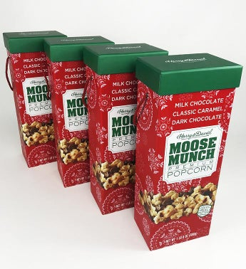 Moose Munch174 Premium Popcorn Holiday Box Set