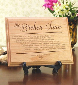 The Broken Chain Plaque