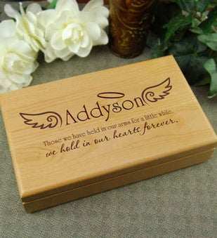 In Our Hearts Forever Keepsake Box