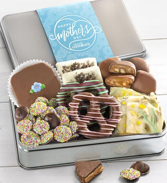 Simply Chocolate Mothers Day Confections Tin