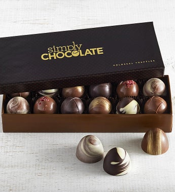 Simply Chocolate Colossal Truffles