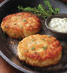 Crab Cakes - Six 3.25-Ounce Pieces