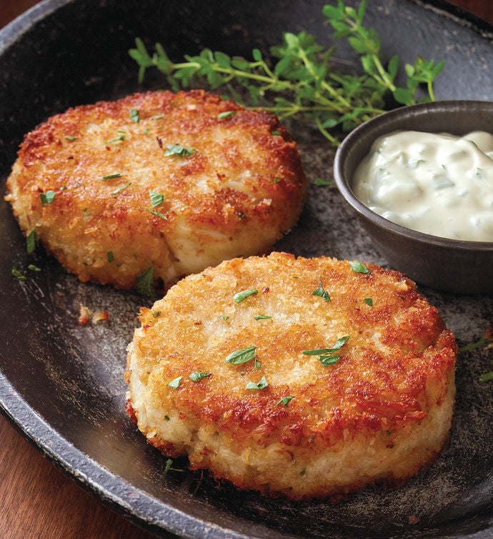 Crab Cakes  Six Ounce Pieces