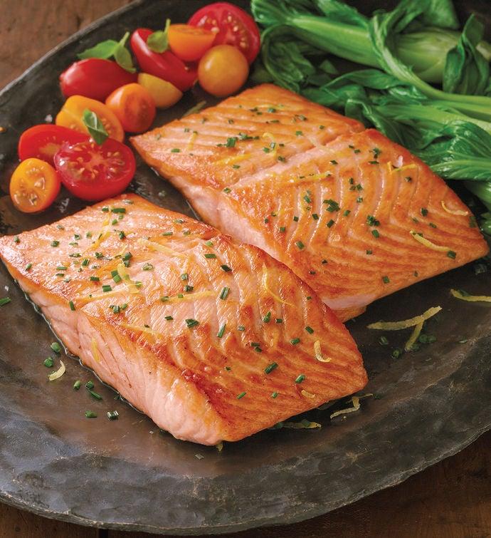 Atlantic Salmon Filets  Six Ounce