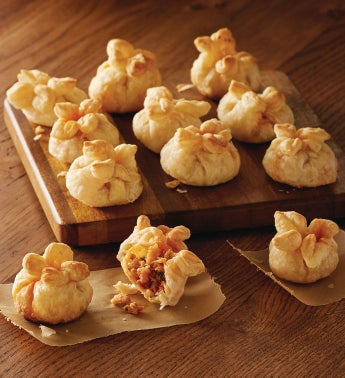 Lobster and Shiitake Mushroom Puffs