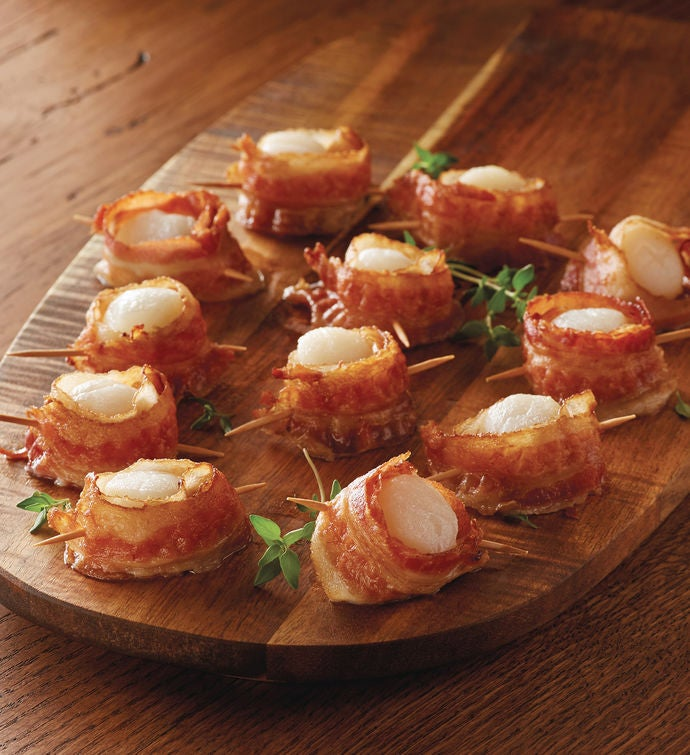 BaconWrapped Scallops
