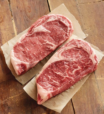 Grass-Fed Boneless Rib Eye - Two 12-Ounce USDA Choice