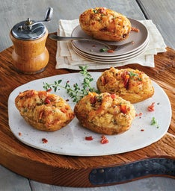 Supreme Twice Baked Potatoes
