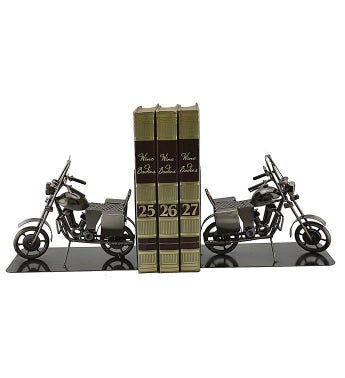 Motorcycle Bookends (Pair)