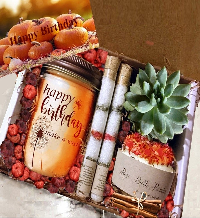 Fall Birthday Spa Gift