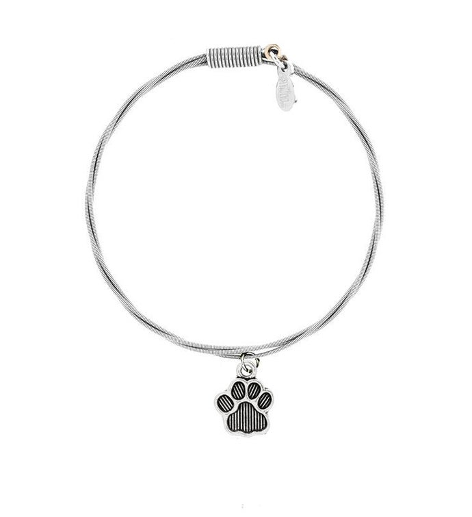 34Who Let The Dogs Out34 - Guitar String Bracelet