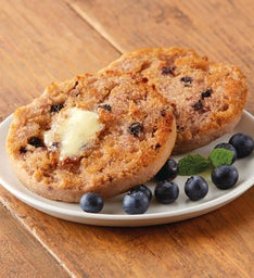 Wild Maine Blueberry Traditional English Muffins