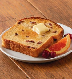 Cranberry Citrus English Muffin Bread