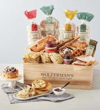 The Best of Wolferman39s Bakery Gift Crate